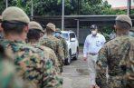 El Ministro de Seguridad Pública, Juan Manuel Pino, agradeció el sacrificio de las familias de todos los uniformados de la Fuerza Pública. Foto: Cortesía.
