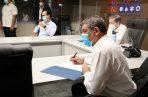 El ministro Luis Francisco Sucre busca frenar la propagación de la COVID-19.