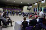 El ministro Juan Pino dijo que en esta segunda reunión los jóvenes entregaron una serie de iniciativas formales para el mejoramiento de la seguridad en la ciudad de Colón. Foto cortesía Minseg