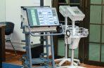 Las autoridades de salud, recibieron una donación de 10 ventiladores de bioseguridad, entregados por el Club Activo 20-30.
