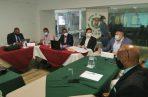 La reunión fue en la sede de la ComCam de la ciudad de Colón. Foto: Diómedes Sánchez S.