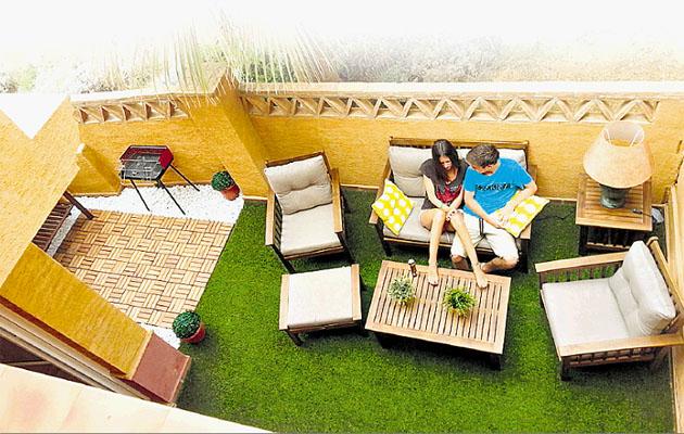 Como una terraza y decoracin de una terraza with como una for Ideas para terrazas en azoteas